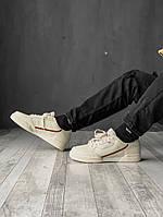 Кроссовки Adidas Continental 80 мужские, белые, в стиле Адидас Континенталь, натуральная кожа, код FL-2034