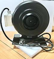 Вентилятор канальный круглый 100 мм центробежный VKCM 100 (радиальный)