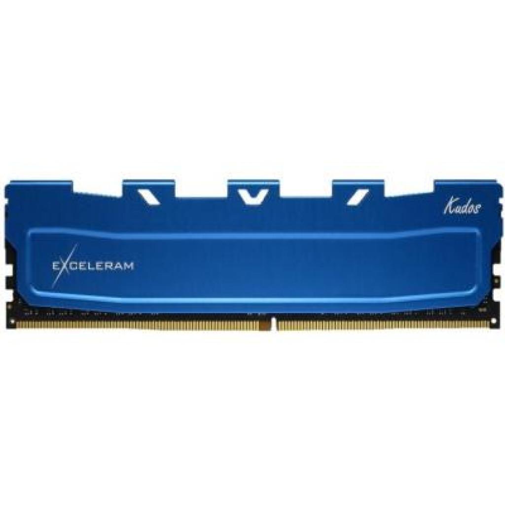 Модуль памяти для компьютера DDR4 16GB 2666 MHz Kudos Blue eXceleram (EKBLUE4162619A)
