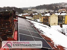 Мережева СЕС 30 кВт у м.Львів, вул. Вербицького 3