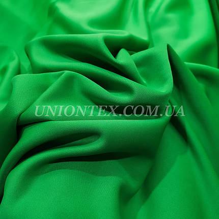 Трикотаж дайвинг зеленый, фото 2