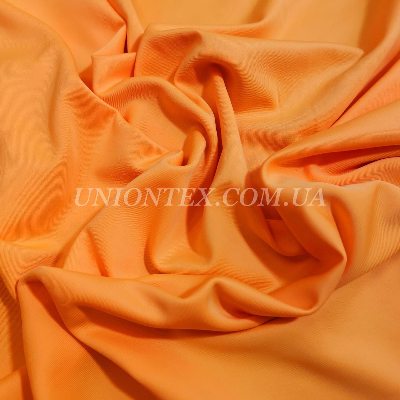 Трикотаж дайвинг оранжевый