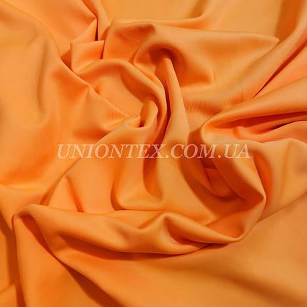 Трикотаж дайвинг оранжевый, фото 2