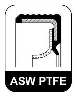 Сальник FRONT RENAULT K9K 35X47X7 ASW PTFE/ACM (Elring). 431.420