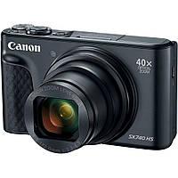 Цифровой фотоаппарат Canon Powershot SX740 HS Black (2955C012), фото 1