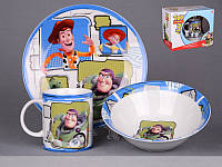 Набор детской посуды Lefard История игрушек 3 предмета 39-125