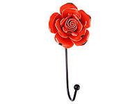 Вешалка на стену Lefard Красная Роза 8х6х16 см 574-177А1