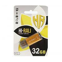 Флешка Hi-Rali 32GB Rocket series Silver