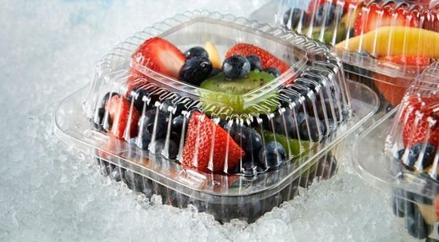 упаковка для пищевых продуктов с крышкой
