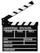 Кинохлопушка NZY 26.7 x 30 см Черная (128719)