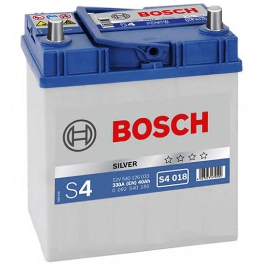 Аккумулятор Bosch S4 Silver 6СТ-40 Евро Азия