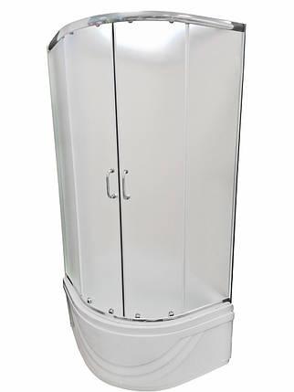 Душова кабіна 90х90 Vivia 09 PR глибокий піддон 48см, фото 2