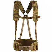 M-Tac пояс тактический с плечевыми ремнями Scout Gen.2 multicam