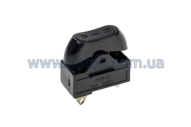 Переключатель режимов для фена 10A 250V (3 позиции)