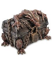 """Шкатулка Veronese """"Дракон на сундуке"""" 14 см 1904286, фото 1"""