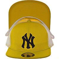 Детская кепка с прямым козырьком RSD16001 желтый