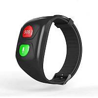 GPS браслет для пожилых людей и детей ZGPAX SH993, с трекером, микрофоном, тонометром, шагомером и пульсометром