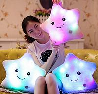 Мягкая игрушка светящаяся звезда