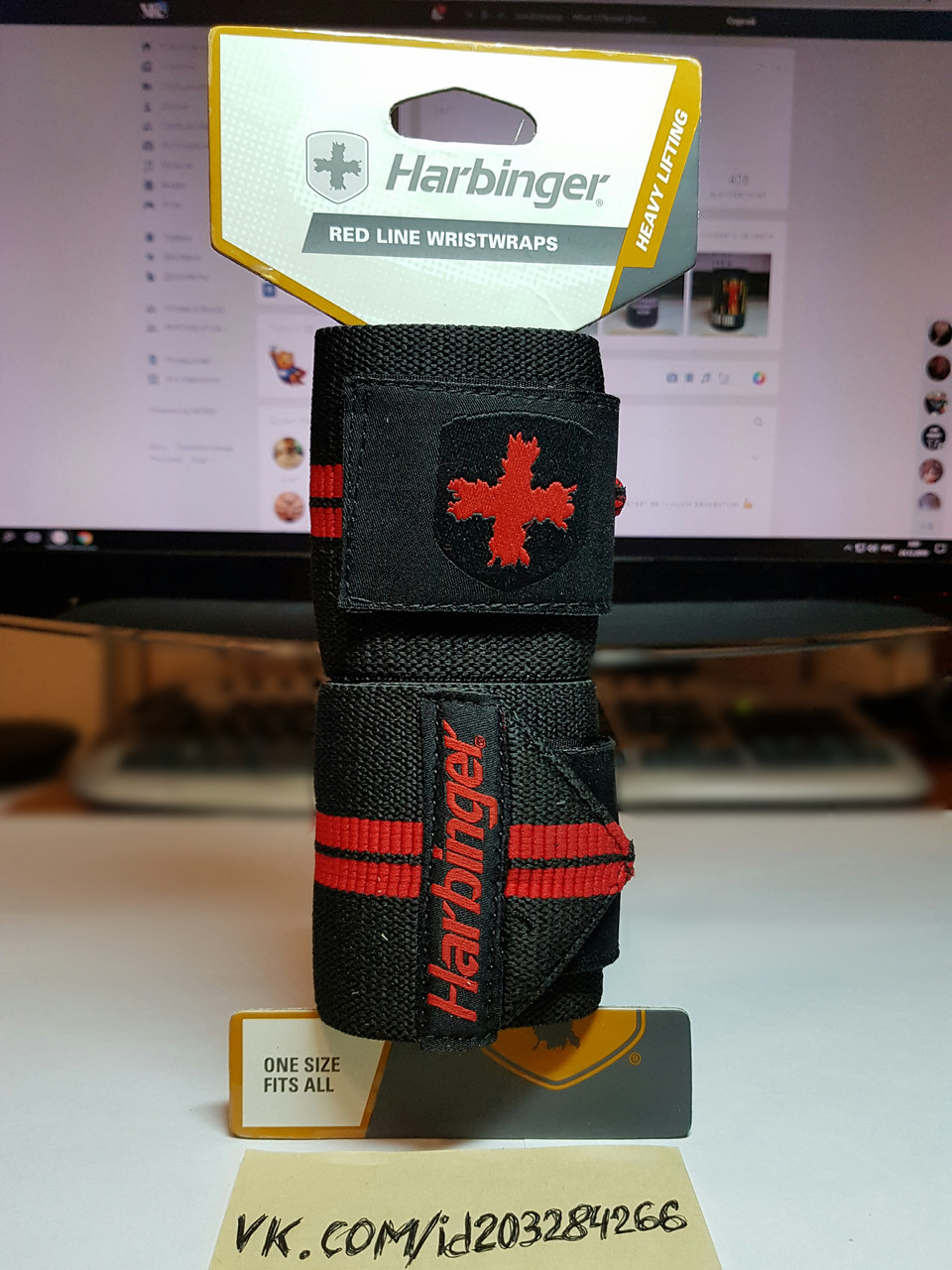 Кистевые бинты Harbinger Red Line Wrist Wraps