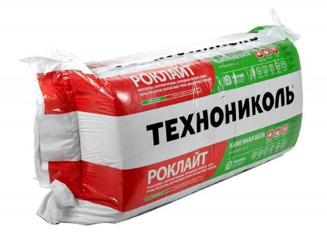 Минвата базальтовая Роклайт Технониколь 1200х600х50 мм (5,76м2/упак.)