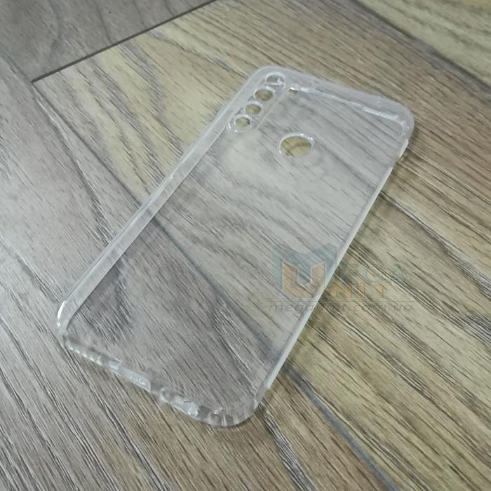 Силиконовый чехол KST для Xiaomi Redmi Note 8 с защитой от пыли и ударов. Прозрачный