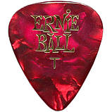 Медиатор Ernie Ball 9109 Celluloid Pearloid Assorted Guitar Pick Thin 0.46 mm, фото 2