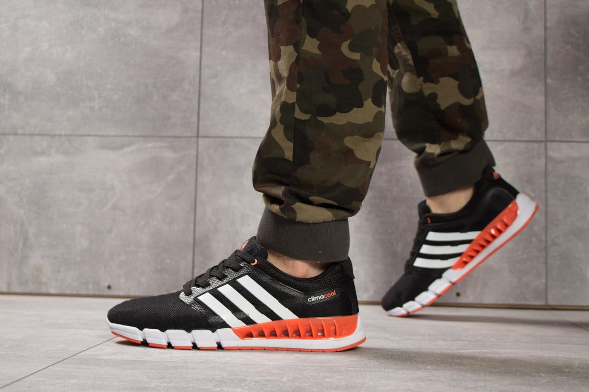 Кроссовки мужские 16084, Adidas Climacool, черные, < 44 > р. 44-28,5см.