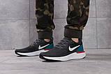 Кроссовки мужские 16103, Nike Epic React темно-серы, [ 43 44 ] р. 43-28,0см., фото 2