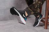 Кроссовки мужские 16103, Nike Epic React темно-серы, [ 43 44 ] р. 43-28,0см., фото 5