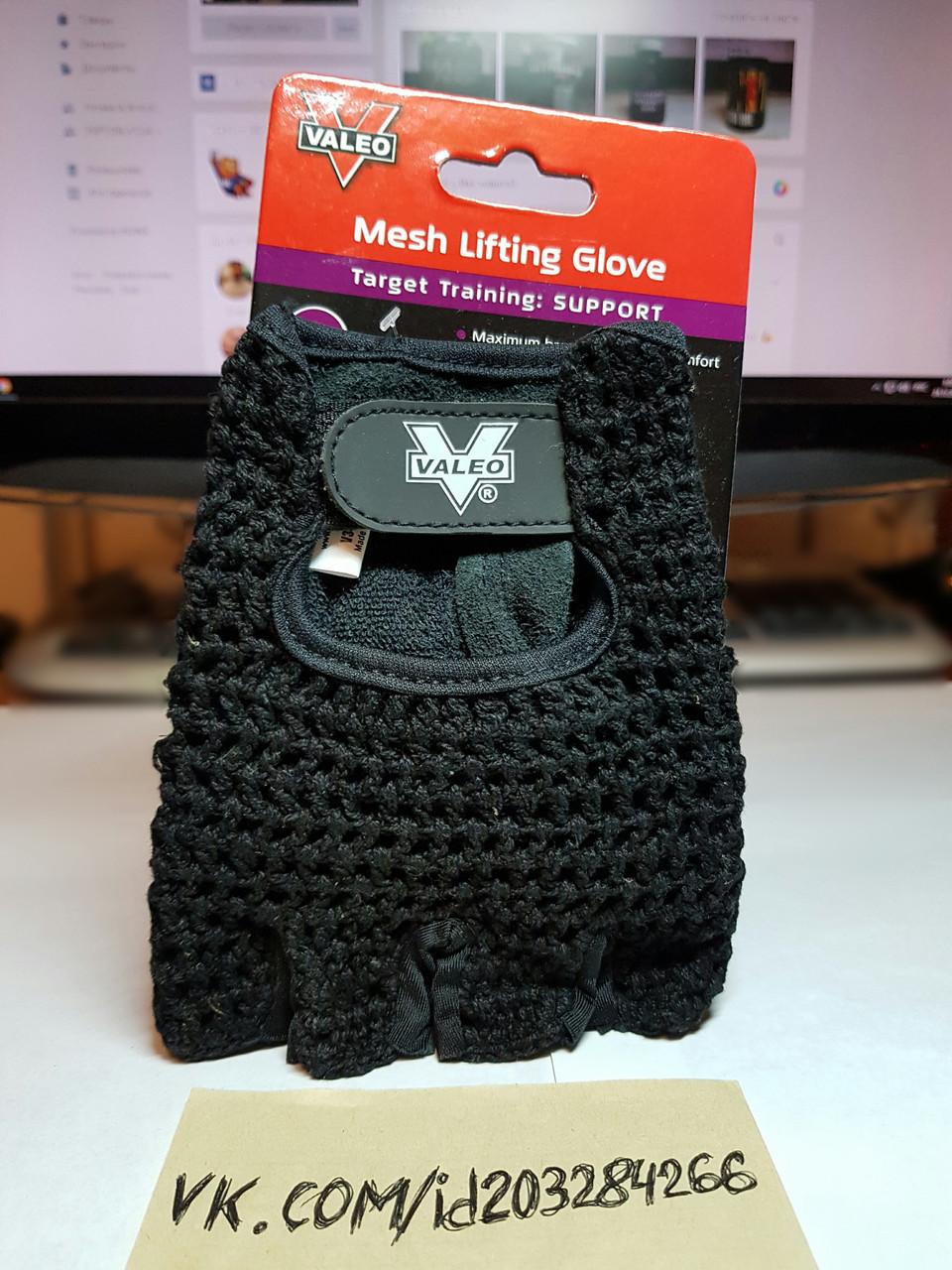 Перчатки атлетические Valeo Mesh Lifting Gloves