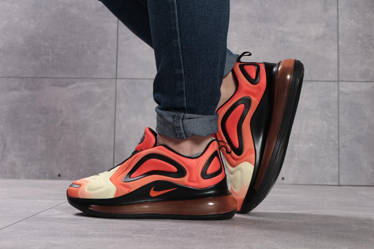 Кроссовки женские 16132, Nike Air 720, оранжевые, < 40 > р. 40-25,8см.