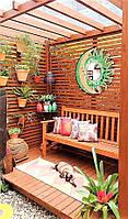 Фитостена, вертикальный сад для беседки. Вертикальное озеленение беседки (Vertical Flower Garden Wall- 01)