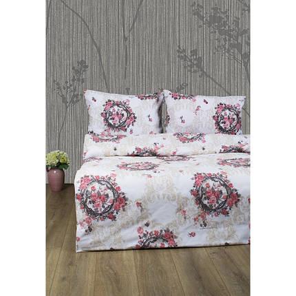 Постельное белье Lotus Ranforce - Angelique V1 розовый двуспальное, фото 2