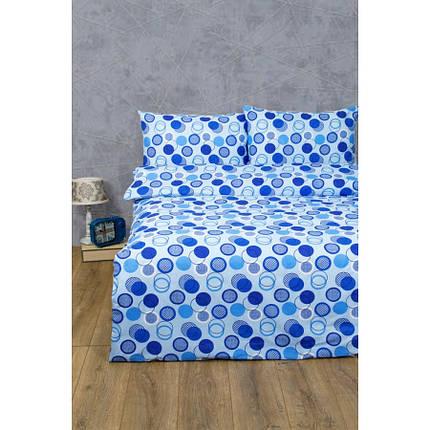 Постельное белье Lotus Ranforce - Erin голубой семейный, фото 2