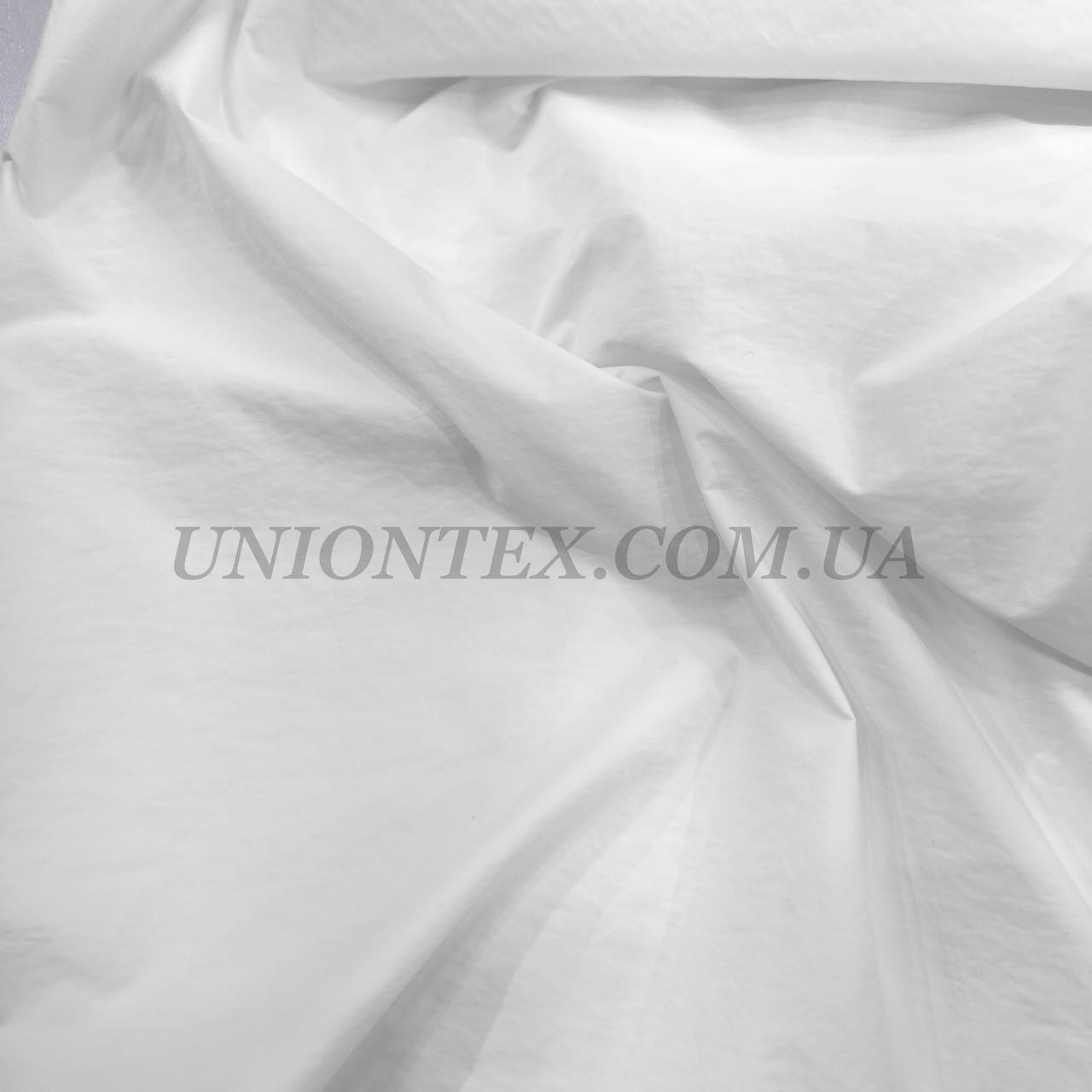 Ткань парашют белый