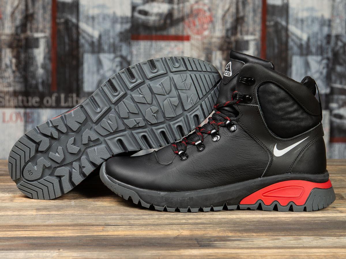 Зимние мужские ботинки 31191, Nike ACG, черные, < 41 > р. 41-27,0см.