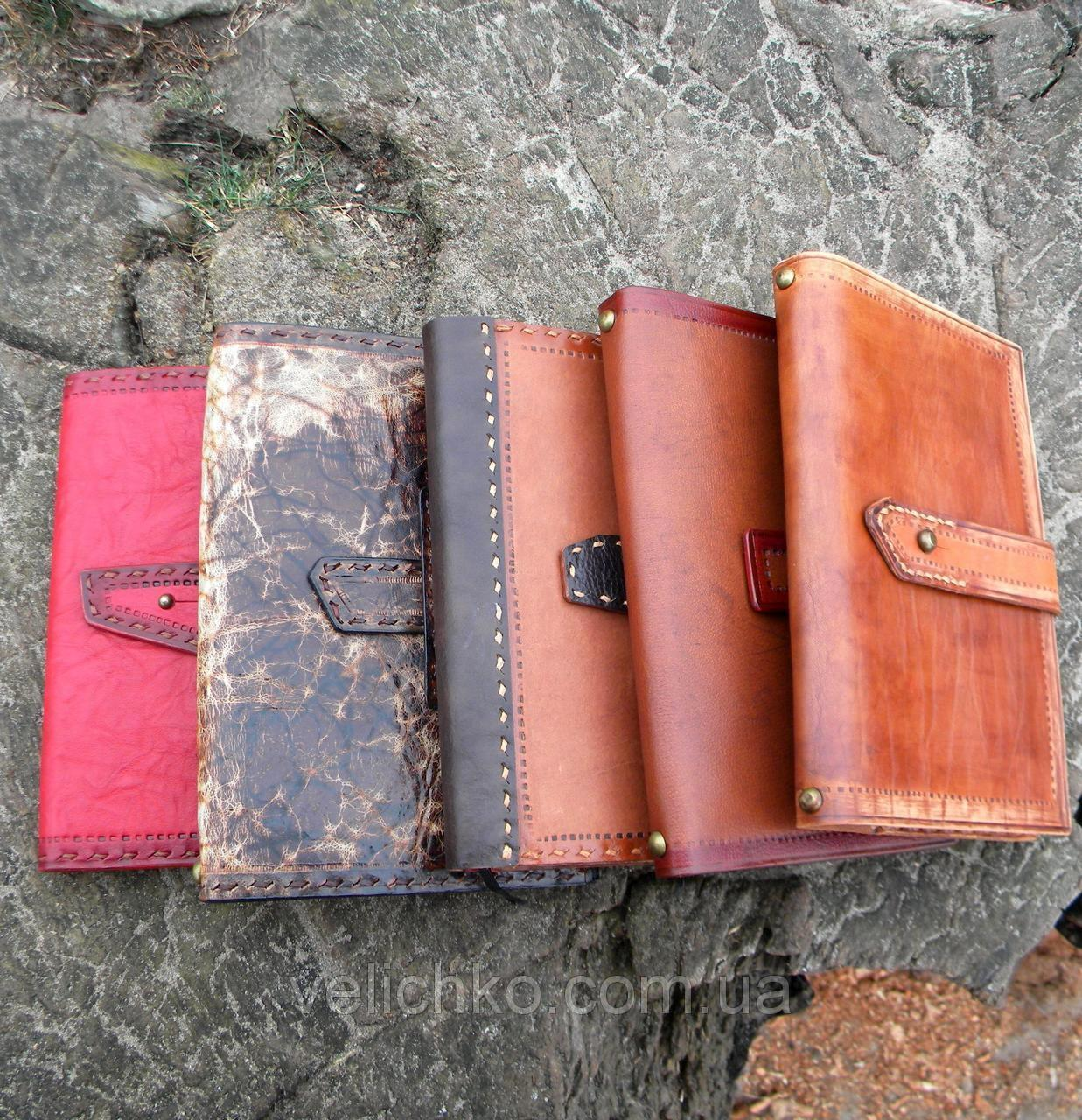 Блокноты кожаные формат А5