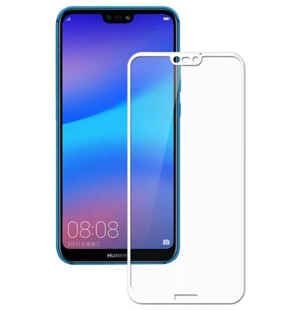Загартоване захисне скло на Huawei P20 Lite Біле