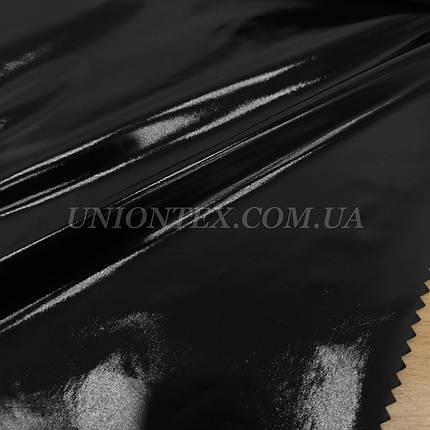 """Ткань плащевка монклер """"moncler"""" черный, фото 2"""
