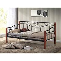 Деревянная кровать Kenia 86098, цвет - черешня античная
