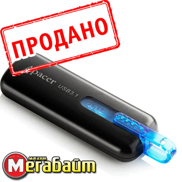 USB flash Apacer AH354 16GB (AP16GAH354B-1) Black