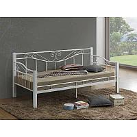 Деревянная кровать Kenia 89337, цвет - белый