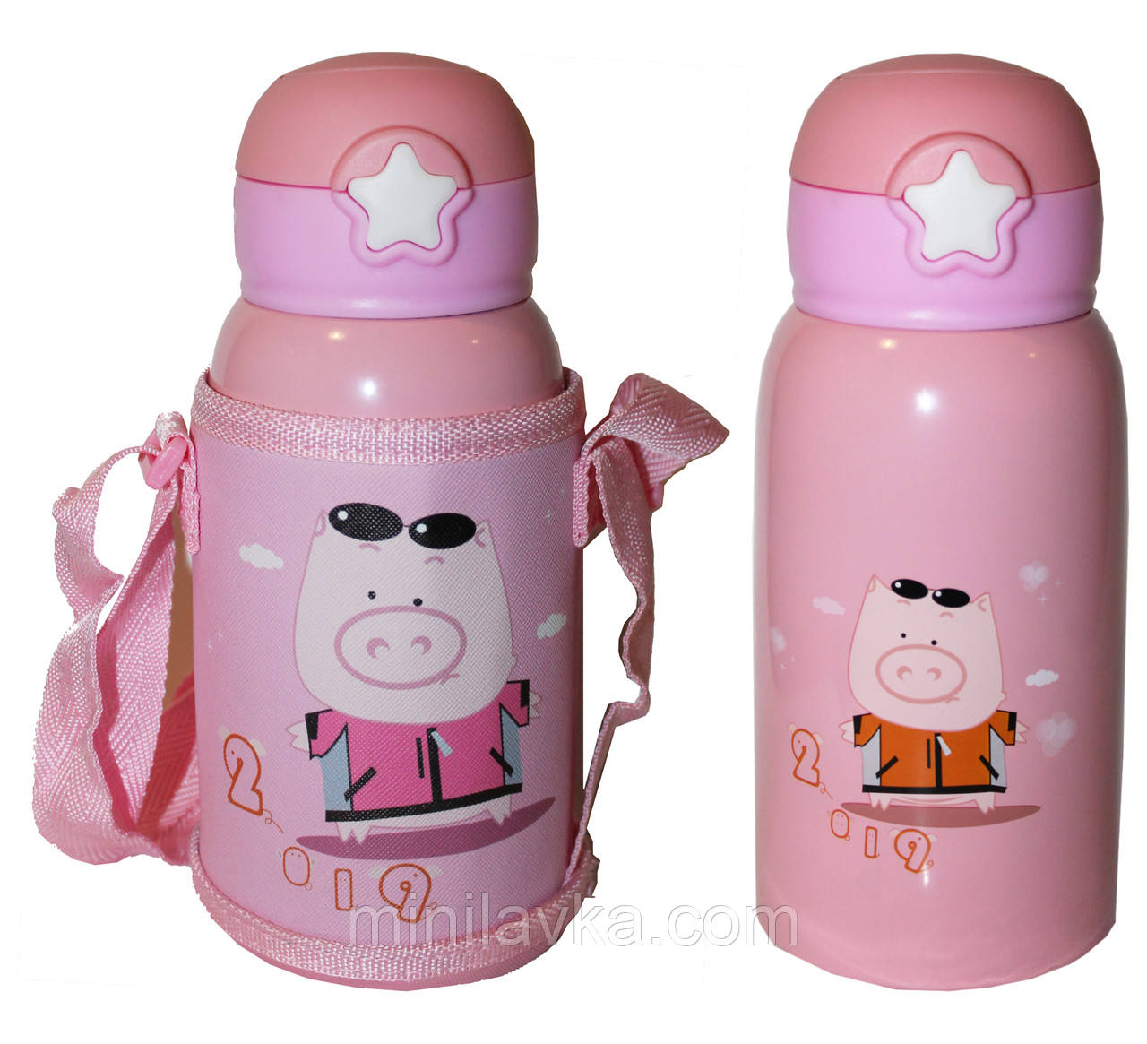 Термос детский Edenberg EB-3525 pink - 550 мл