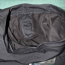 Штаны для спецслужб черные зимние на флисе 50р б/у, фото 2