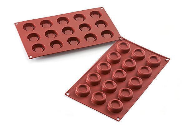 """Форма для десерта """"Mini Dessert Round"""" 40х20х1.3см/180мл силиконовая Silikomart"""