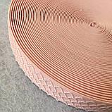 Гумка поясна - 3см/25ярд. світло-рожевий (653-Т-0171), фото 3