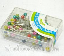 Кравецькі шпильки (гвоздики з кулькою) для шиття 38мм (657-Л-0049)