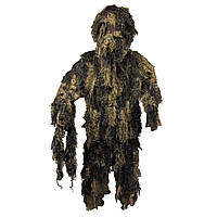 Костюм маскировочный Ghillie Suit лесной камуфляж MFH