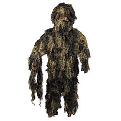 Костюм маскувальний Ghillie Suit лісовий камуфляж MFH