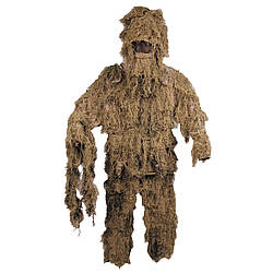 Костюм маскувальний Ghillie Suit пустельний камуфляж MFH